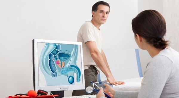 Простата. Описание диагностика и лечение